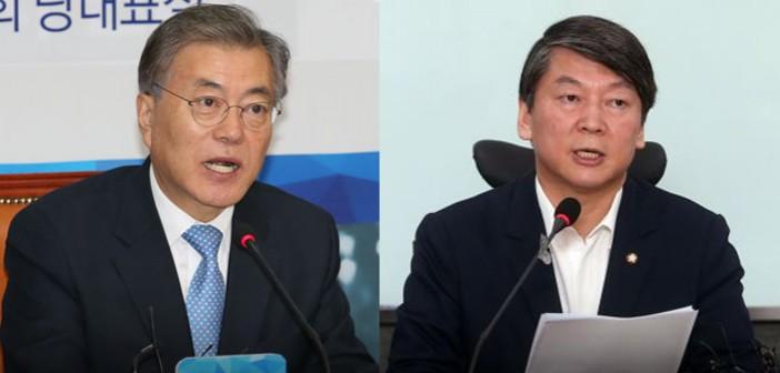 '문·안·박' 갈등, 새정치 하락·정의당은 창당 이래 최고치